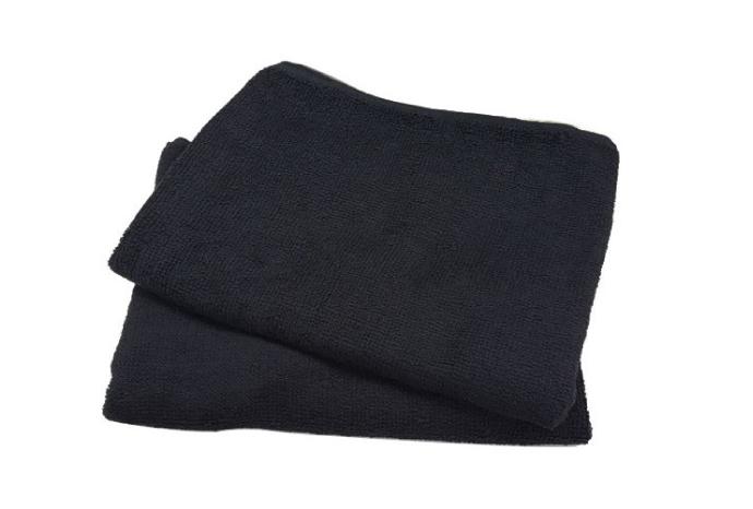 スレン染めのタオル