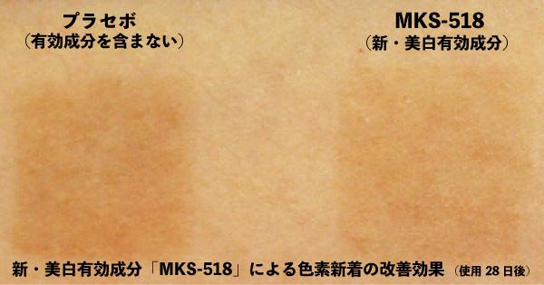 ポーラ新美白有効成分MKS-518