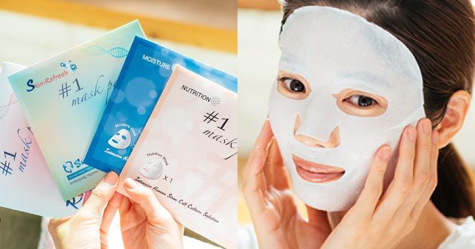 幹細胞コスメのシートマスク「Re Gen マスクパック」