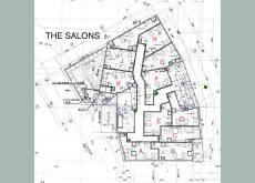 モール型美容室TheSalons1号店見取り図