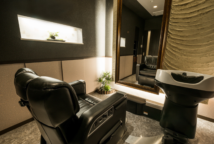 Luxury men's salon Axis