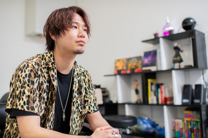NEXTオーナーの古田一馬さん
