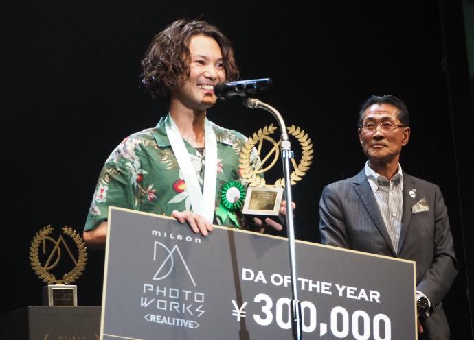 DAフォトワークスのリアリティブ部門は松垣智大さん(PATCH HAIR)