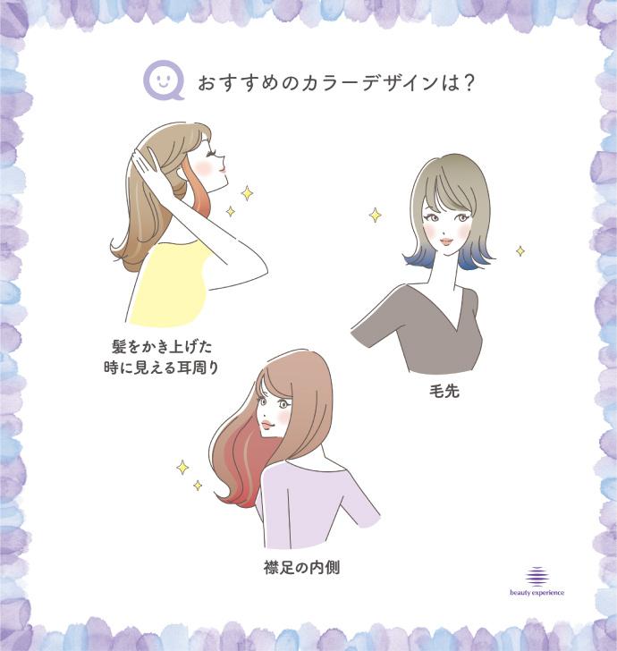 ビューティーエクスペリエンス「2019秋トレンドカラー」