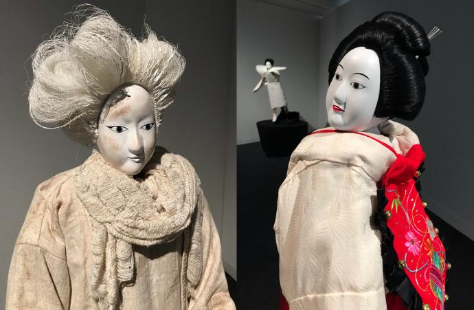 計良氏制作の文楽人形