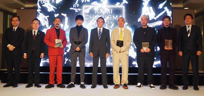 カミカリスマ2020の三つ星カリスマ美容師と麻生太郎副総理