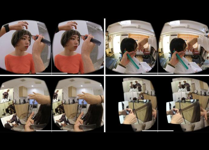 講師と同じ目線で技術を見る!VR活用の美容師教育サービス「hairVR」誕生