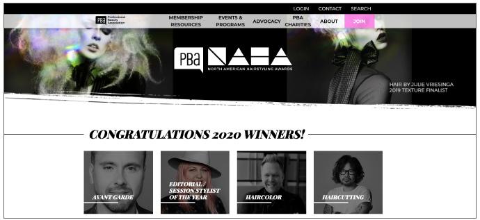 NAHA ウェブサイト