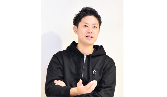Recohair代表の黒木遼太氏