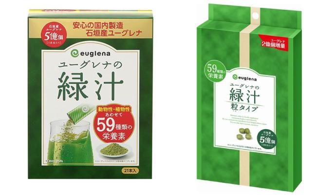 『ユーグレナの緑汁』