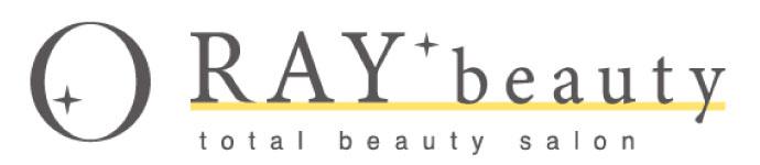 トータルビューティーサロンを標榜するRAYグループのロゴ「RAY Beauty」