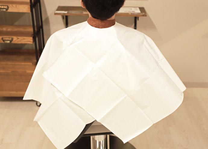ウィズコロナ時代の衛生対策 紙素材の使い捨てカットクロス「ワンタイムクロス」誕生