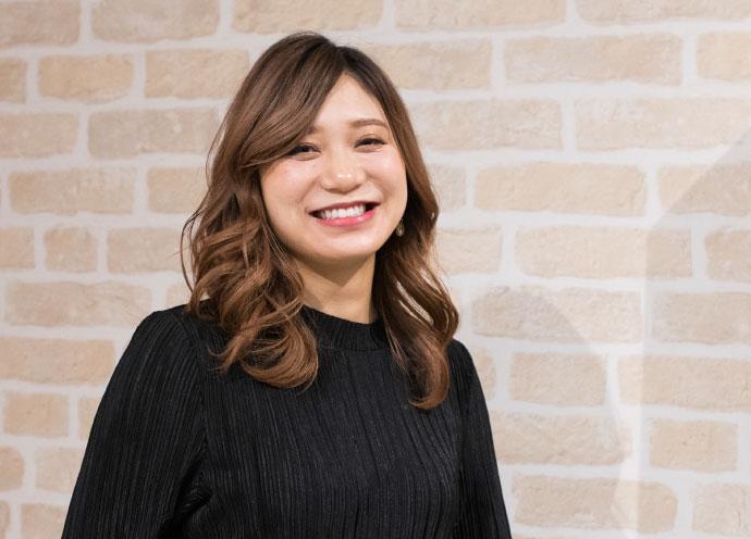 IJK OMOTESANDO店長の釼持恵梨香さん