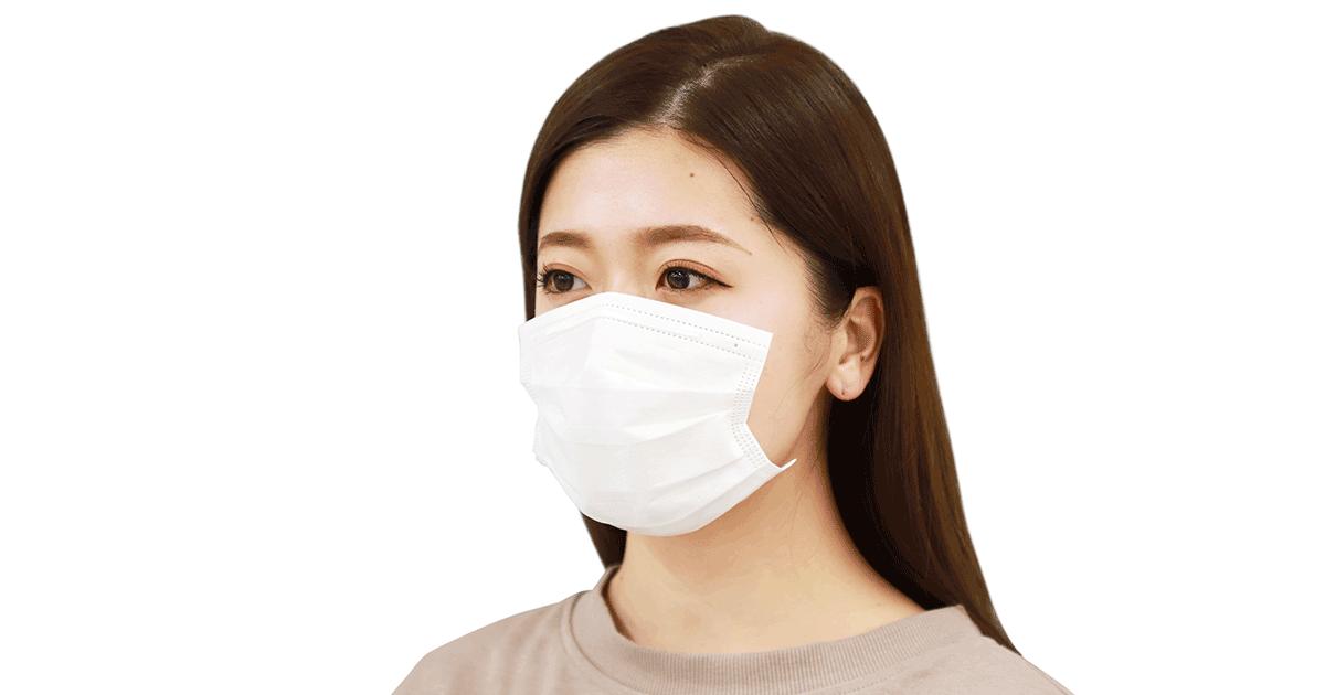 """施術に便利な""""ひも無し"""" 顔に貼る「シールマスク」"""