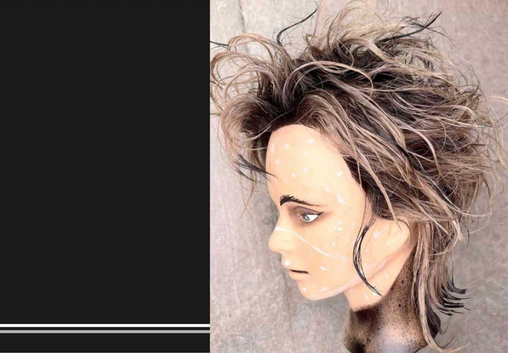 Clubhouseヘアコンテスト「CHHA」第1回の2位受賞作品