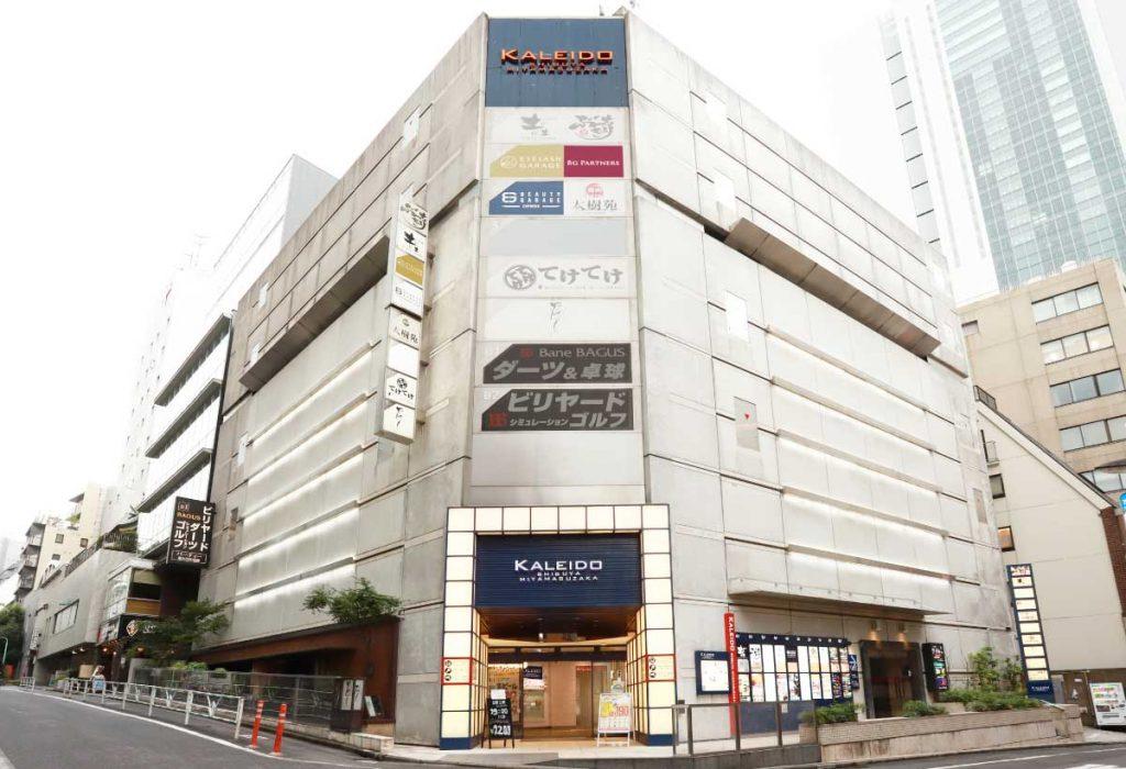 「ビューティガレージ EXPRESSストア 渋谷」外観