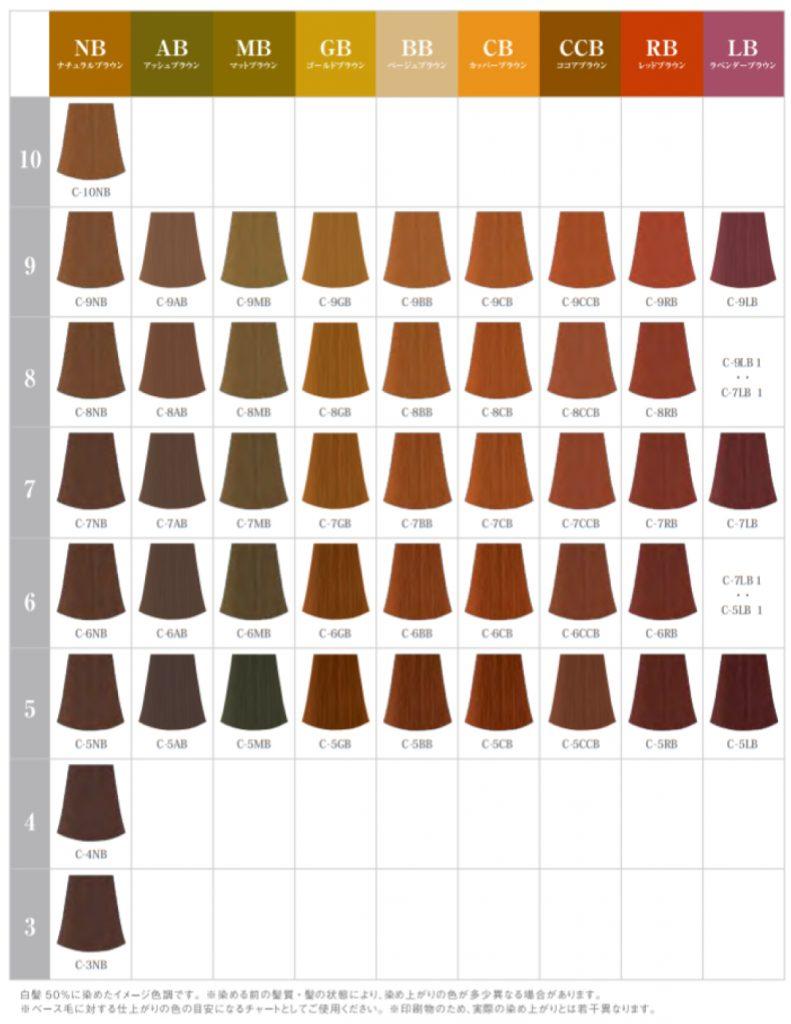 ナプラ「HBケアテクトカラー」グレイファッション
