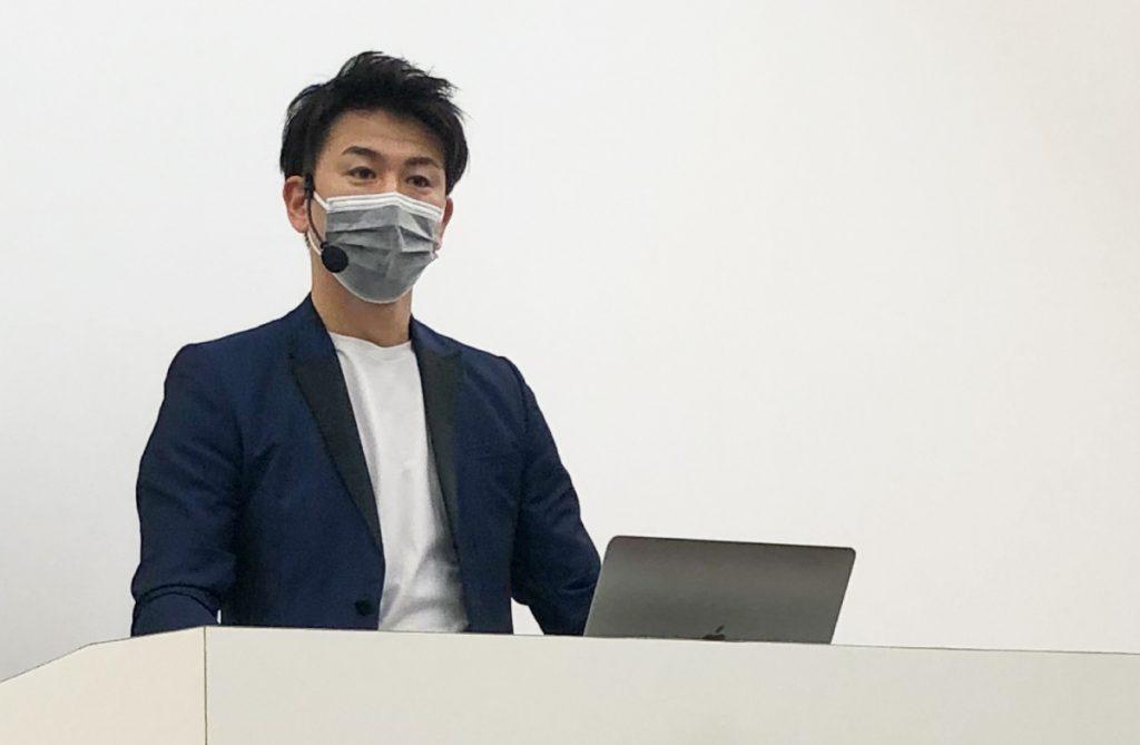 MINX菅野久幸取締役のセミナー(ビューティーワールドジャパン)